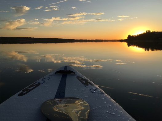 Scary Times Call for Paddling Pleasures - AQ Ambassador Lisa Stocking