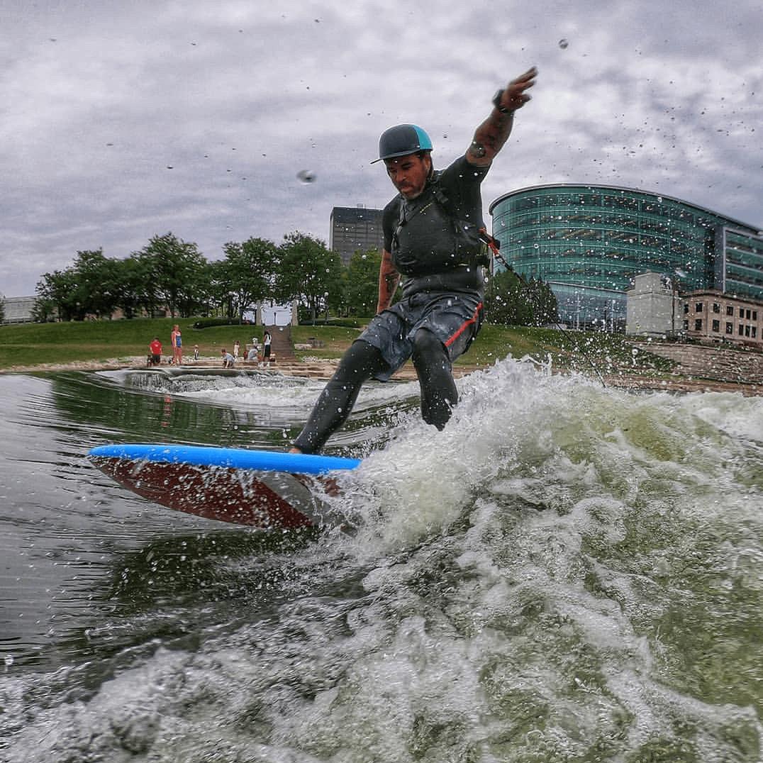 Bad Fish SUP - Back at AQ Outdoors / Aquabatics Calgary