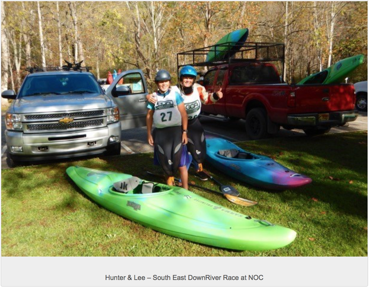 Kayaking Competitions - Fun for the Family