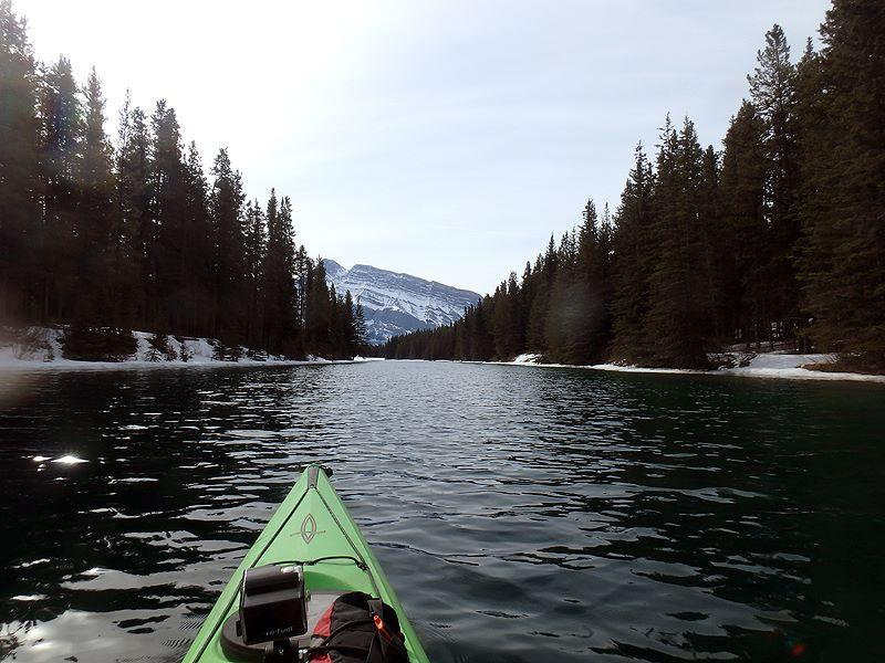 Where to Kayak in Banff National Park