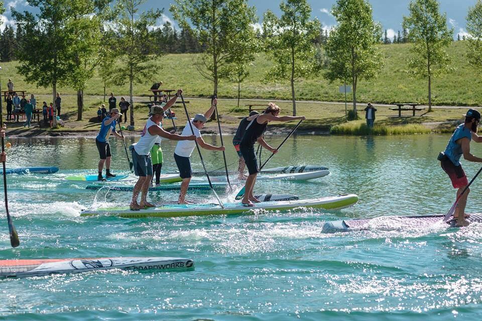 Aquabatics / AQ Outdoors Edmonton Event Sponsor - Alberta SUP Championships