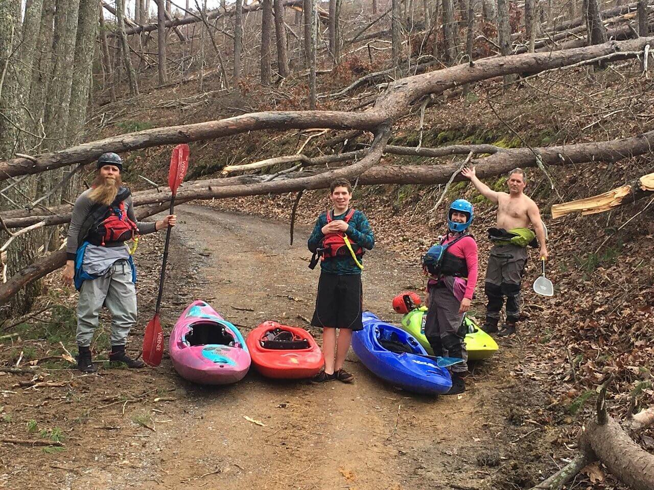 Spring Paddling brings Wood Tribulations