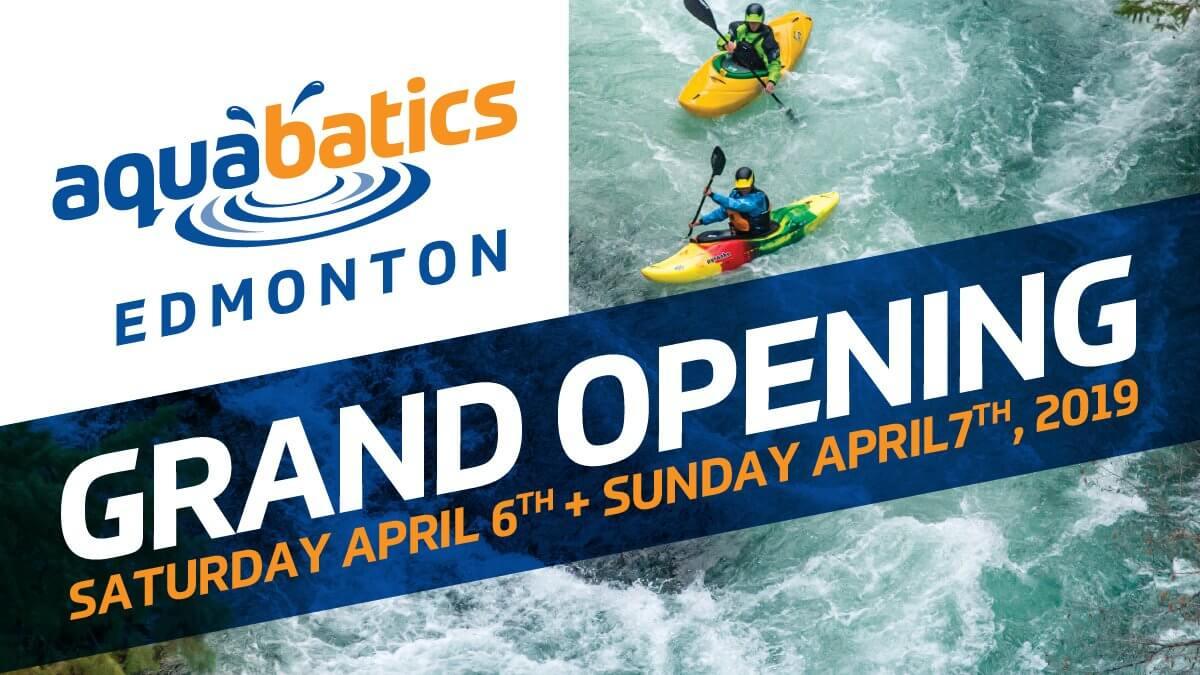 Edmonton Location Grand Opening - April 6th & 7th