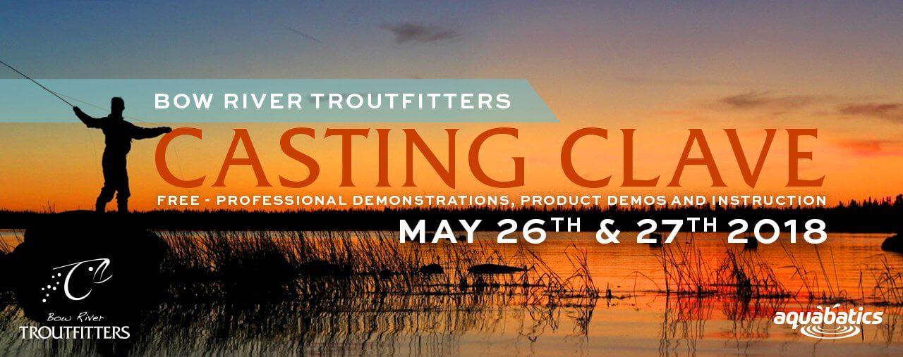 Casting Clave & Fishing Kayak Demo 2018