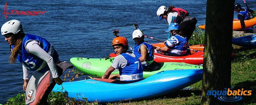Dagger Kayaks & Aquabatics Calgary 'NEW WAVE' Teen Creeking Program