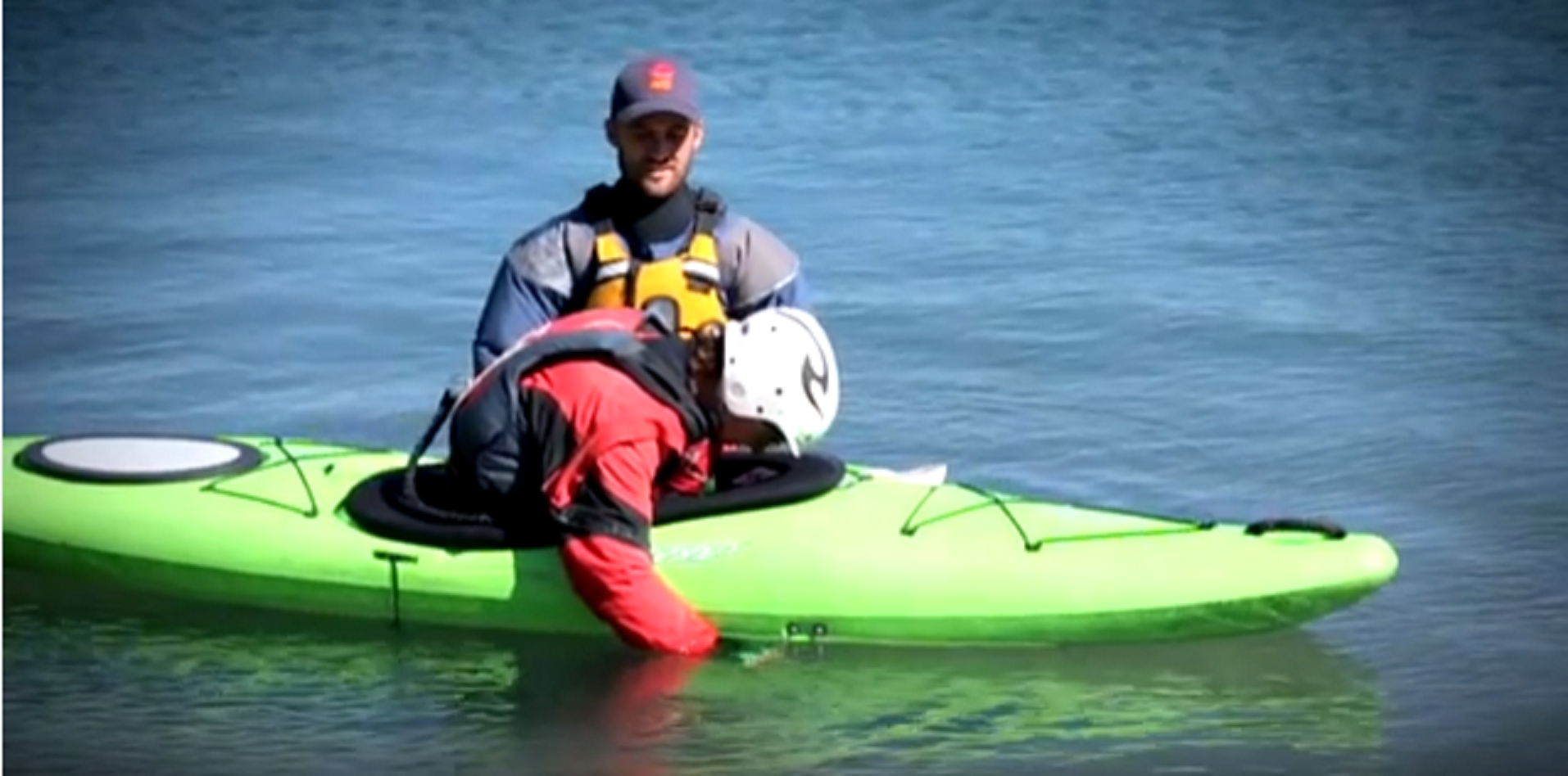 How to Wet Exit - Beginner Kayak Instructional Video