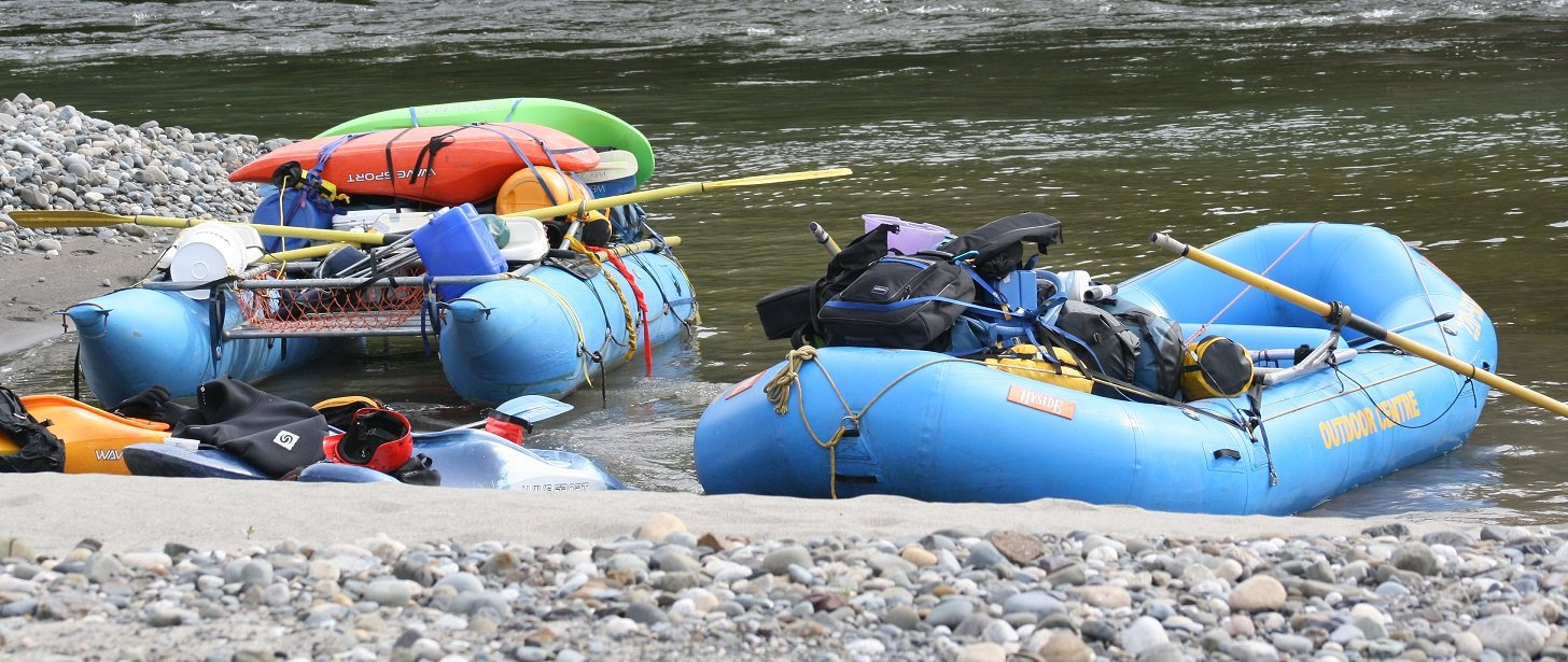 Kootenay River Raft Supported Kayak Trip