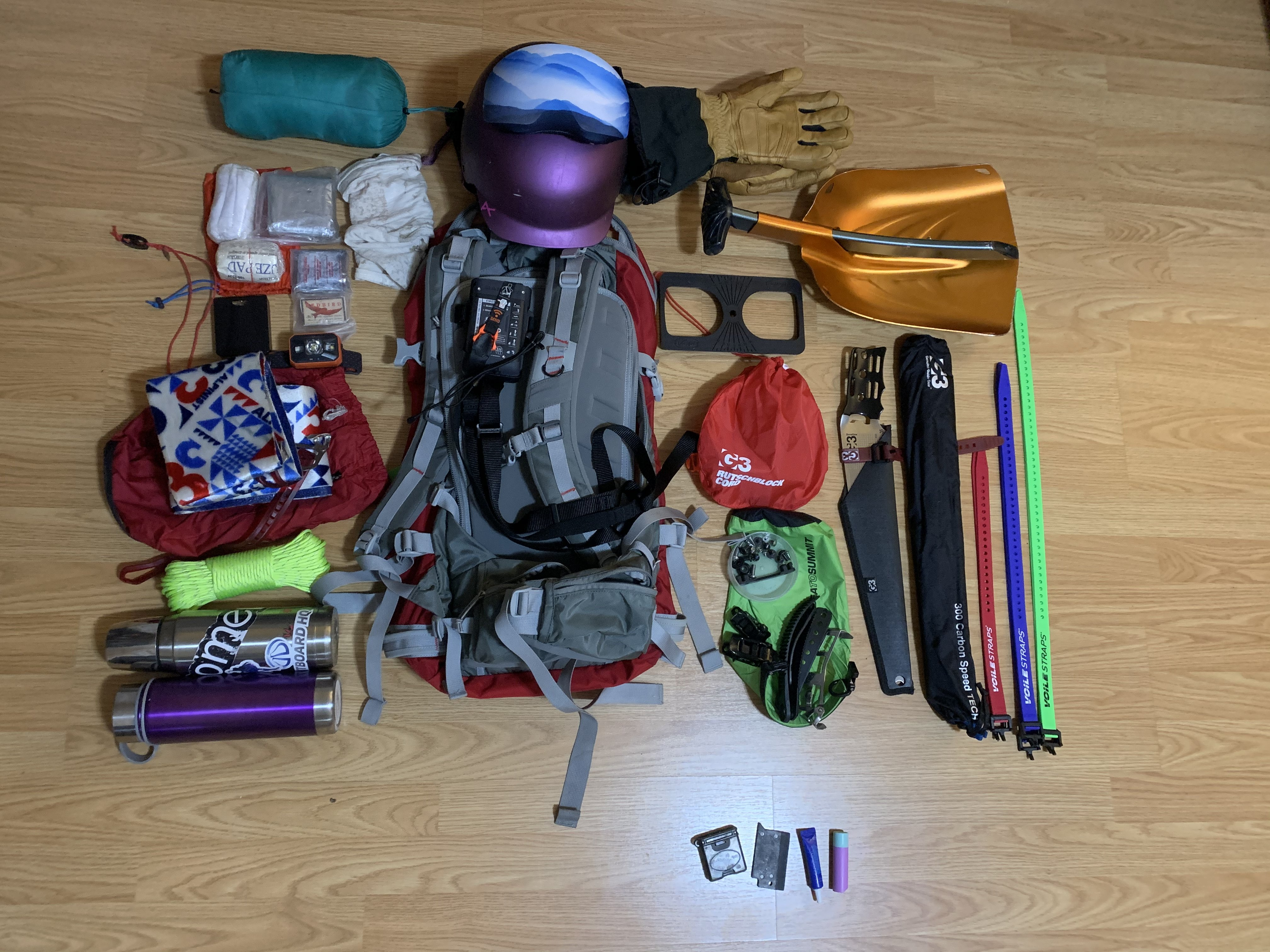 What's In Your Splitboarding Day Pack? - Kim Kenyon