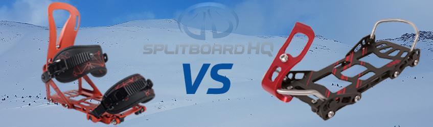 Hard boot vs Soft boot Splitboard Setup Pros & Cons