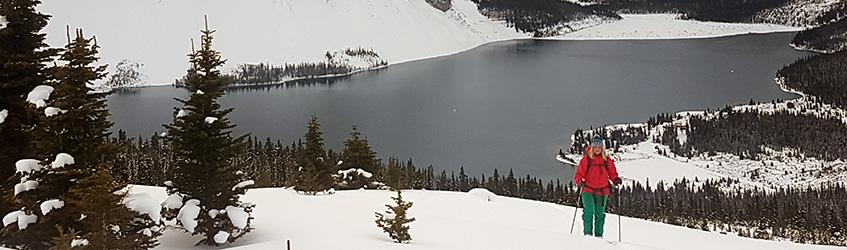 No Wind, Mild Temps and Pow - Is this the Rockies?