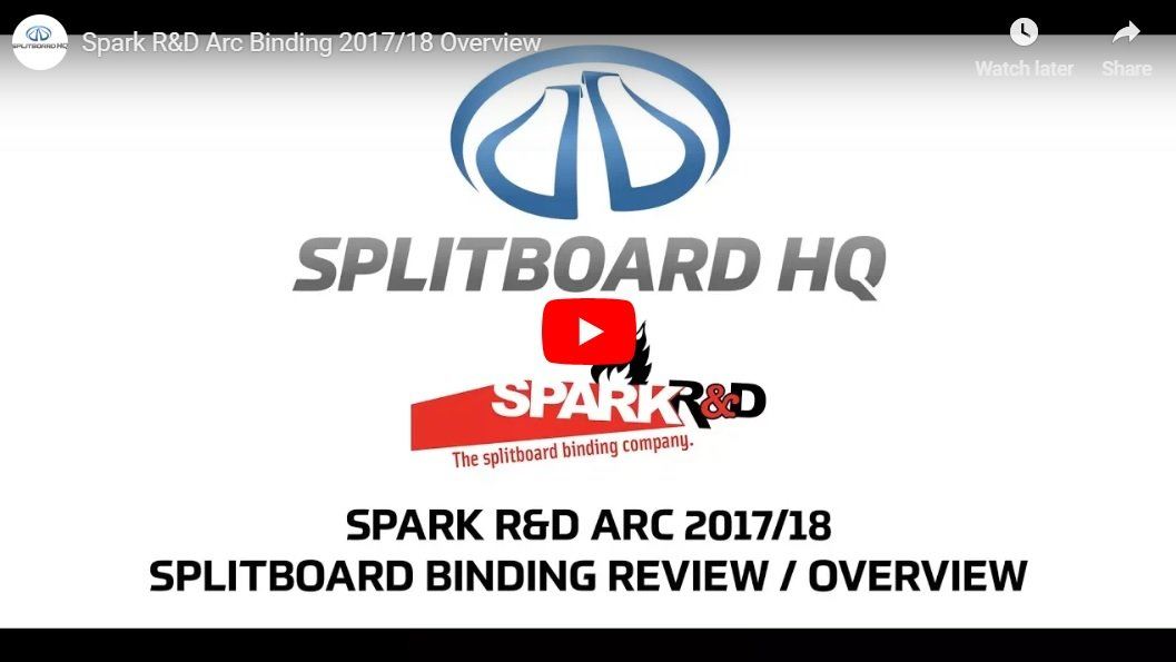 Spark R&D Arc 2017/18 Binding Overview VIDEO