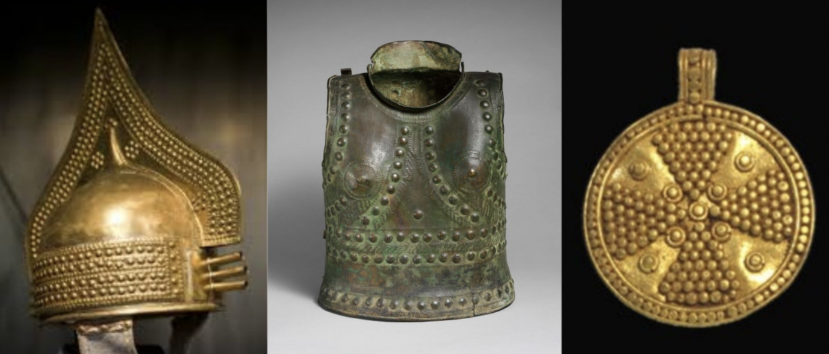 Etruscan armor and jewelry inspiration
