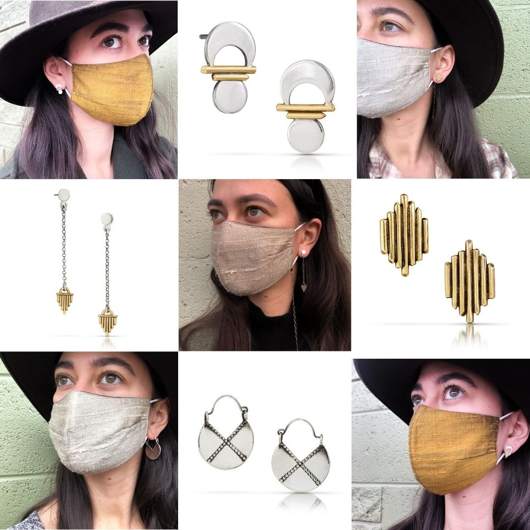 Best Earrings to Wear with a Face Mask