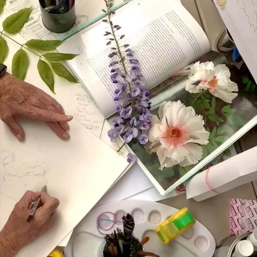 INSPIRATION BEHIND AMANDA FERRAGAMO'S WALLPAPER COLLECTION