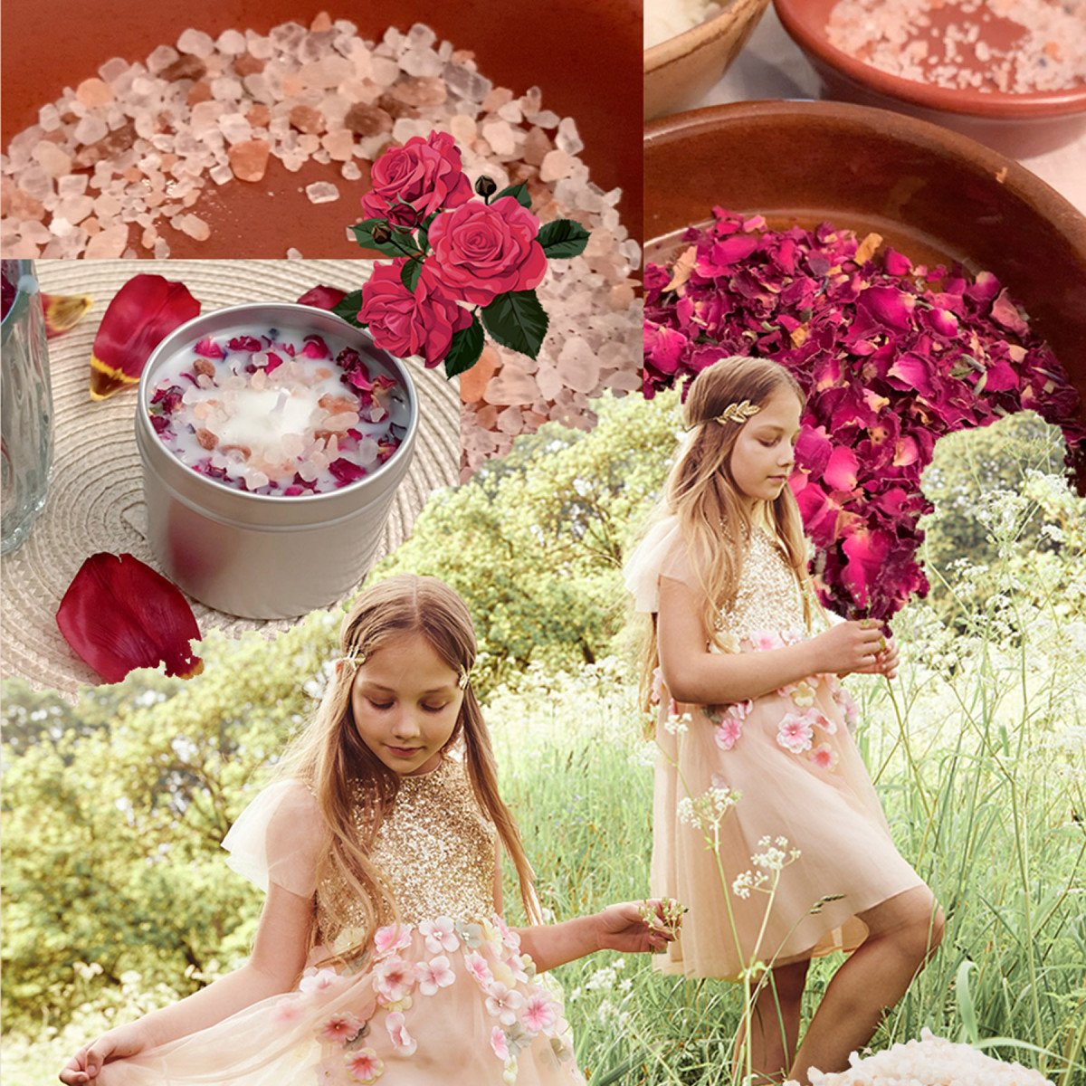 At Home with Wild & Gorgeous - Flower Candle Making