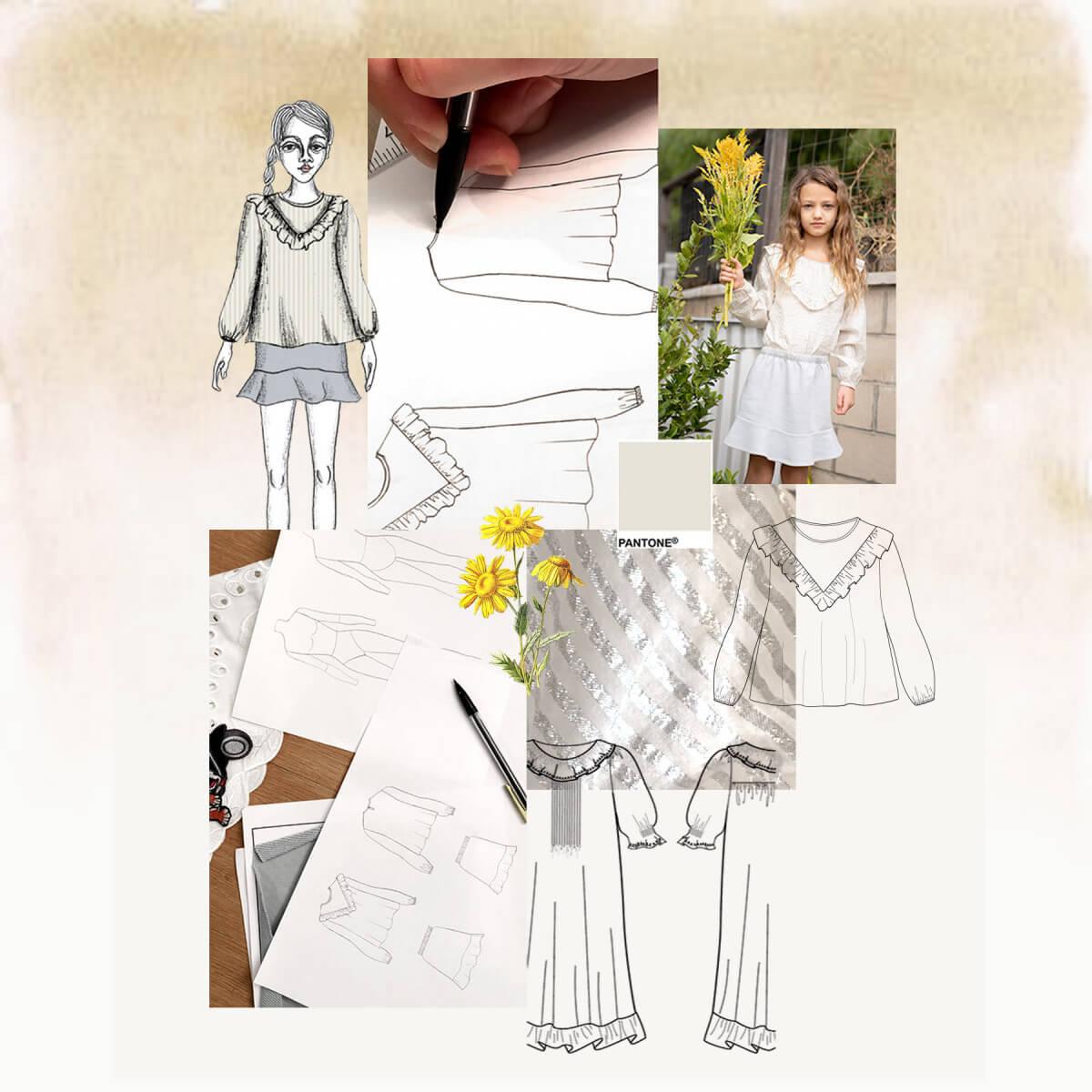 Studio Wild & Gorgeous - Fashion Design Class #3 - Technical Illustrations Part 1