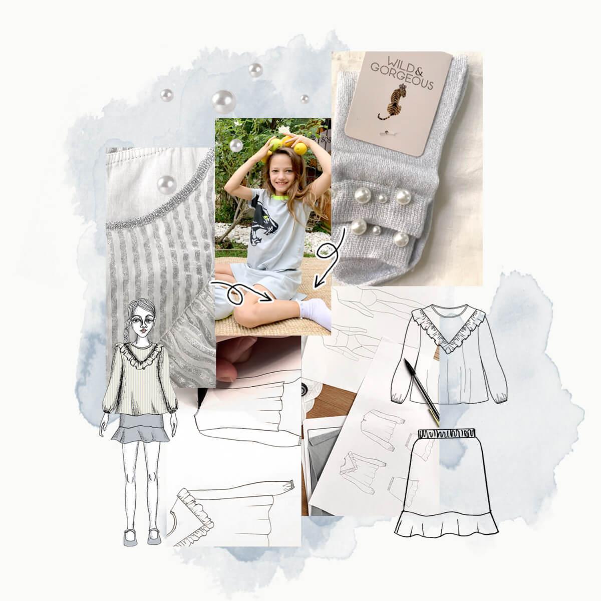 Studio Wild & Gorgeous - Fashion Design Class #3 - Technical Illustrations Part 2