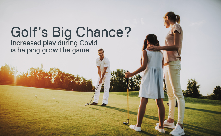 Golfs big chance?