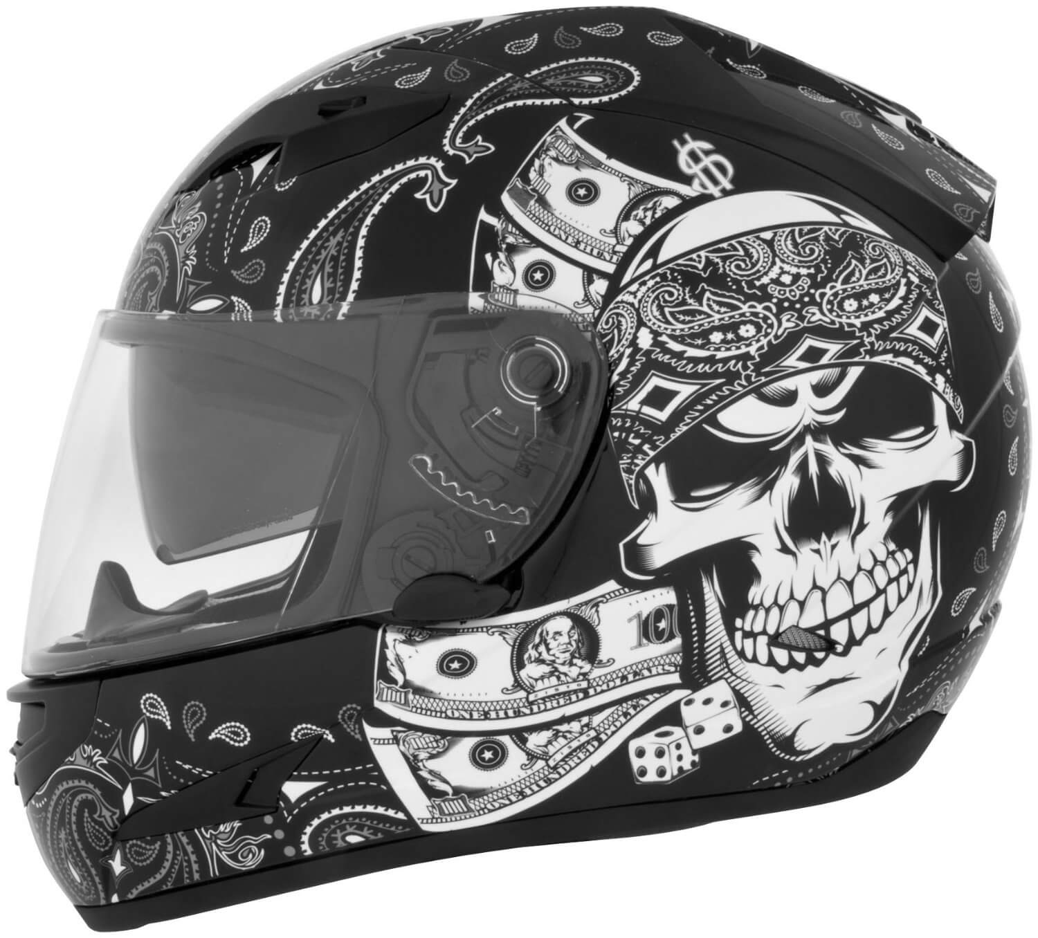 10 of the Wildest Skull Helmets in the Motorcycle World