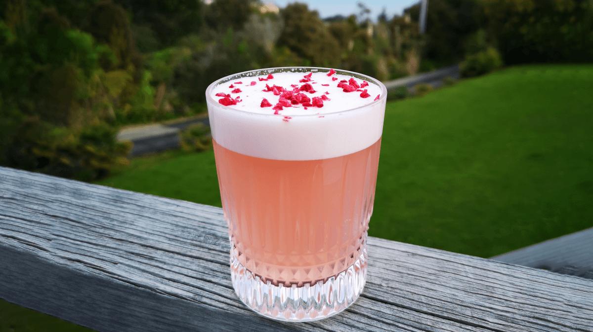 Elderflower Apple Gin Sour Recipe