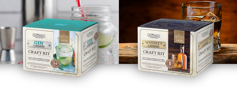 Flavouring Craft Kits - Gin and Whiskey