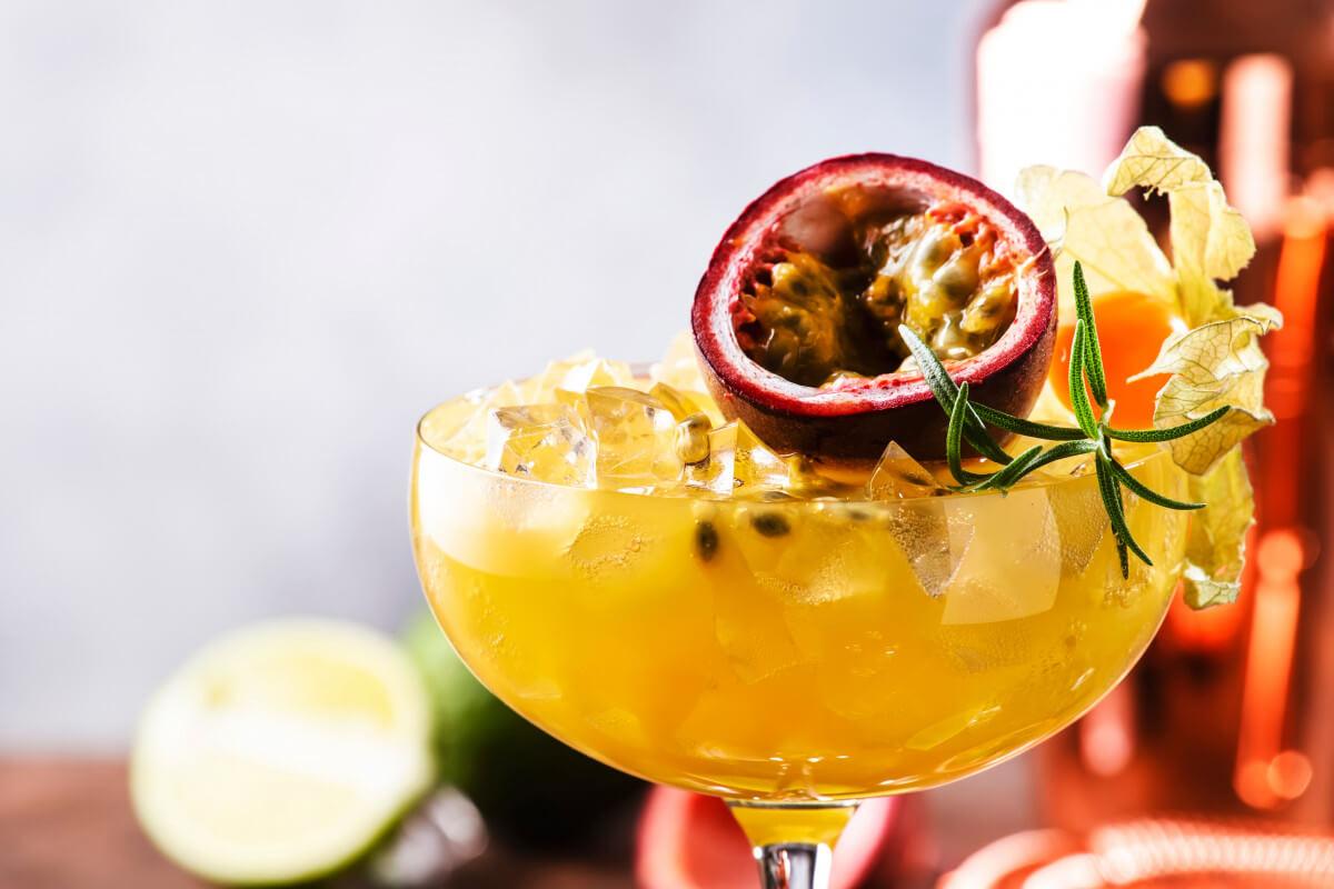 Passionfruit Gin Liqueur Crush
