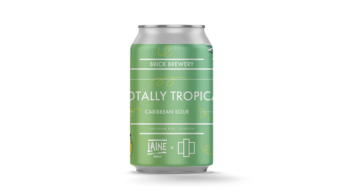 TOTALLY TROPICAL CARIBBEAN SOUR - 3.9% - COLLABS - LAINE X BRICK