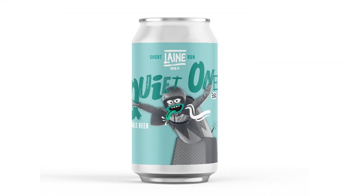 QUIET ONE TABLE BEER - 3.6% - SHORT RUN - LAINE BREW CO
