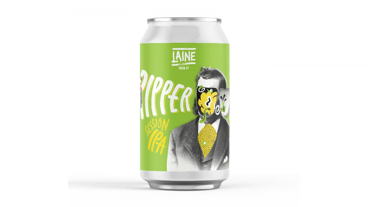 RIPPER SESSION IPA - 4.9% - Core Range - Laine Brew Co
