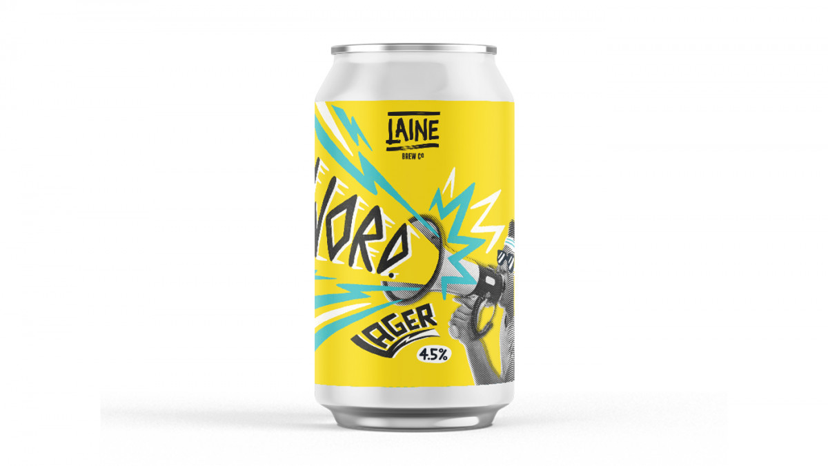 WORD LAGER - 4.5% - Core Range - Laine Brew Co