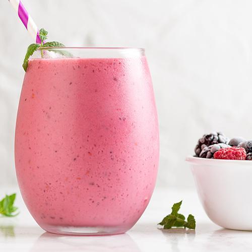 Kale Strawberry Banana Detox Smoothie