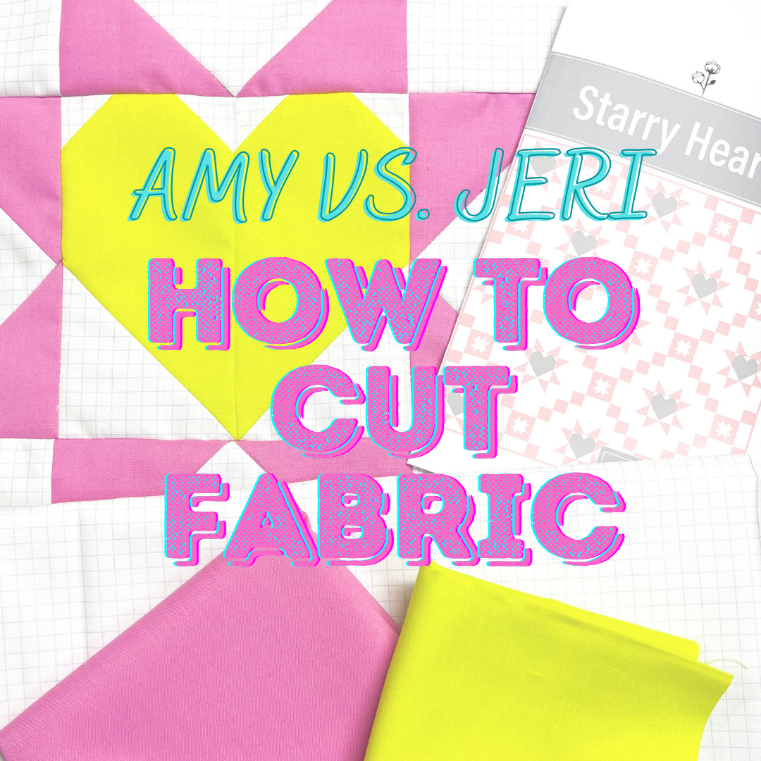 Week 2: How to Cut Fabric