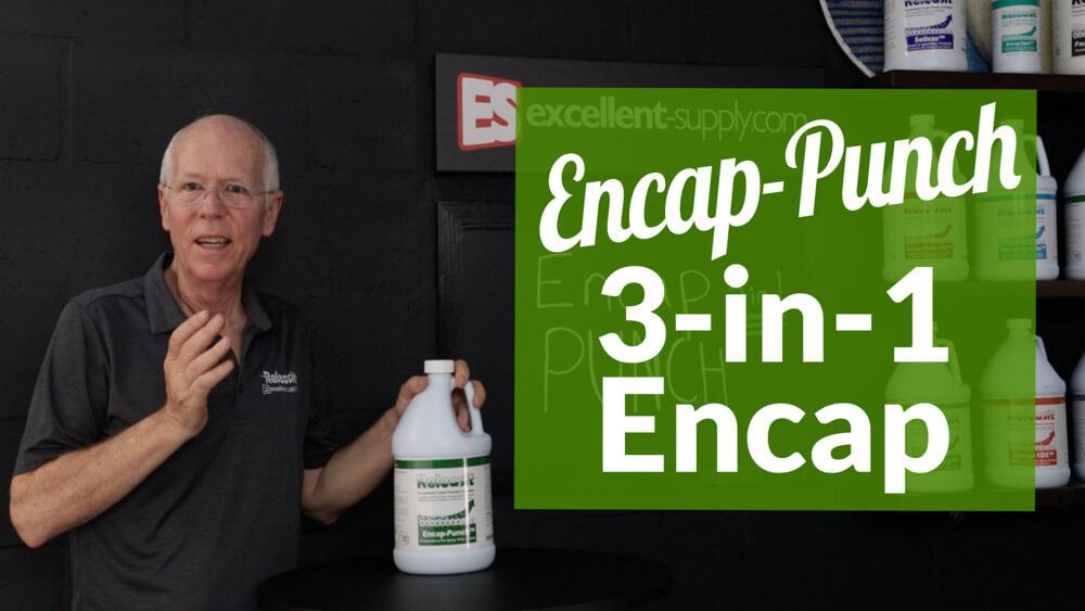 Encap-Punch - CRI Approved 3-in-1 Encap Detergent