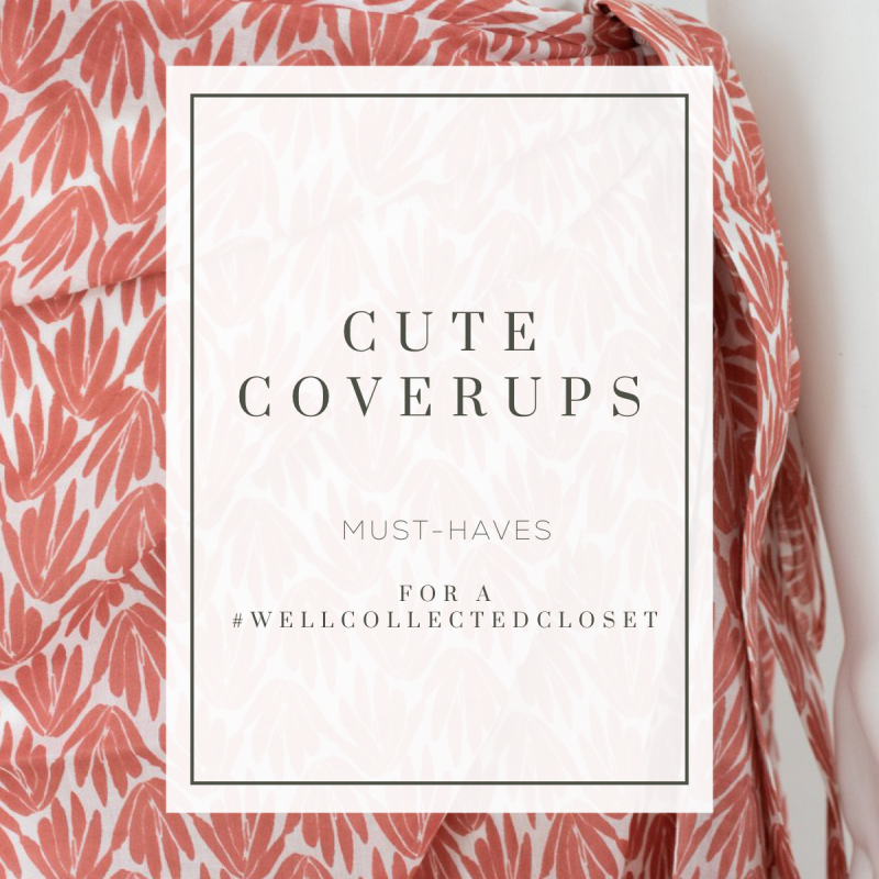 Cute Swimsuit Coverups for Pools and Beaches