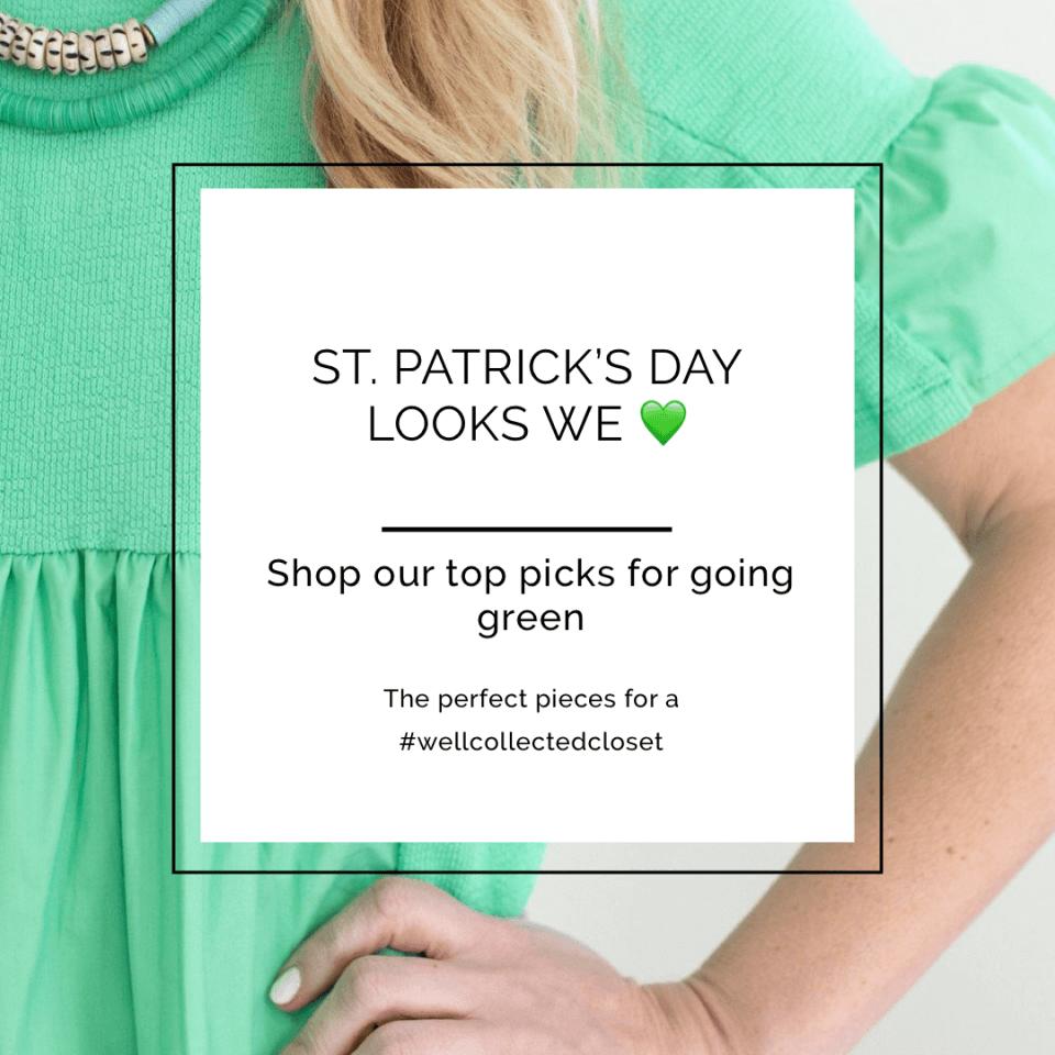 St. Patrick's Day Looks We Love 💚