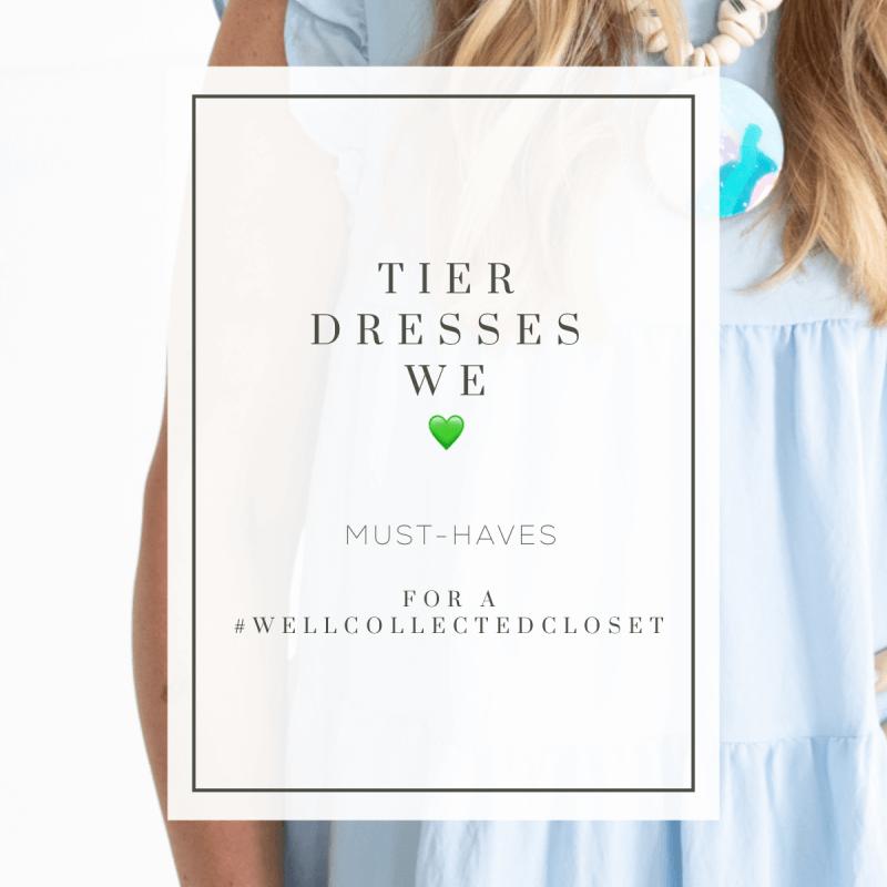 Favorite Find: Tier Dresses