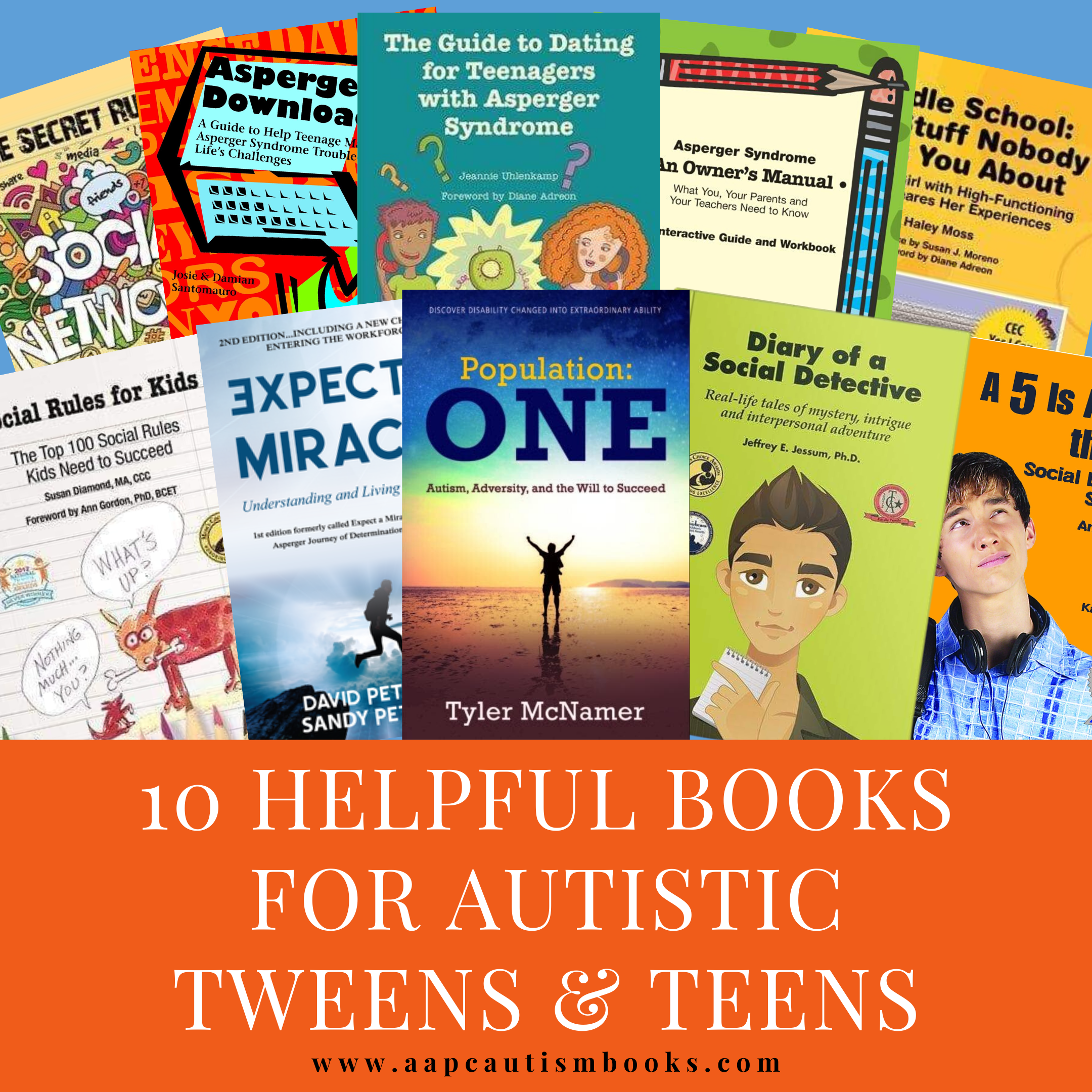 10 Helpful Books for Autistic Tweens and Teens