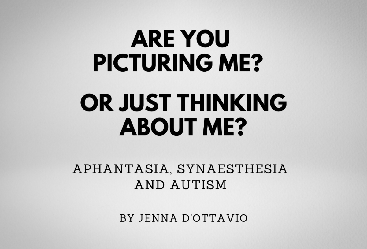 Are you picturing me? or just thinking about me? Aphantasia, Synaesthesia and Autism