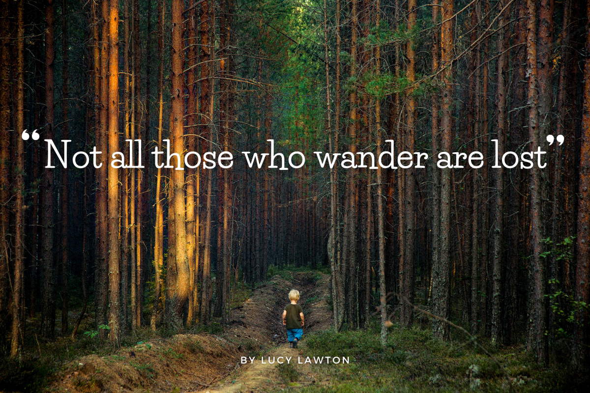 'Not All Those Who Wander Are Lost'