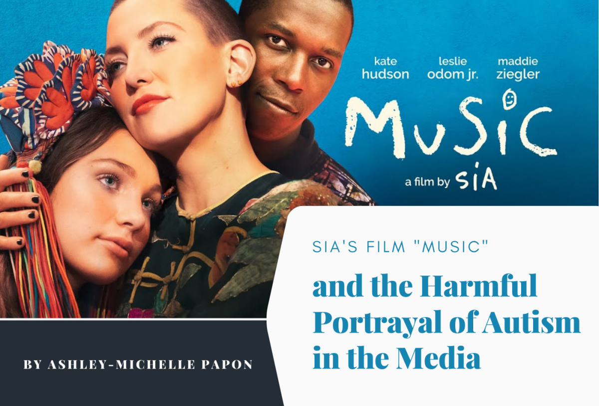 """Sia's Musical Film """"Music"""" and the Harmful Portrayal of Autism in the Media"""
