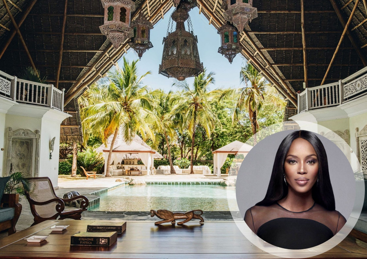 Naomi Campbell's Kenya Mansion Design Inspiration