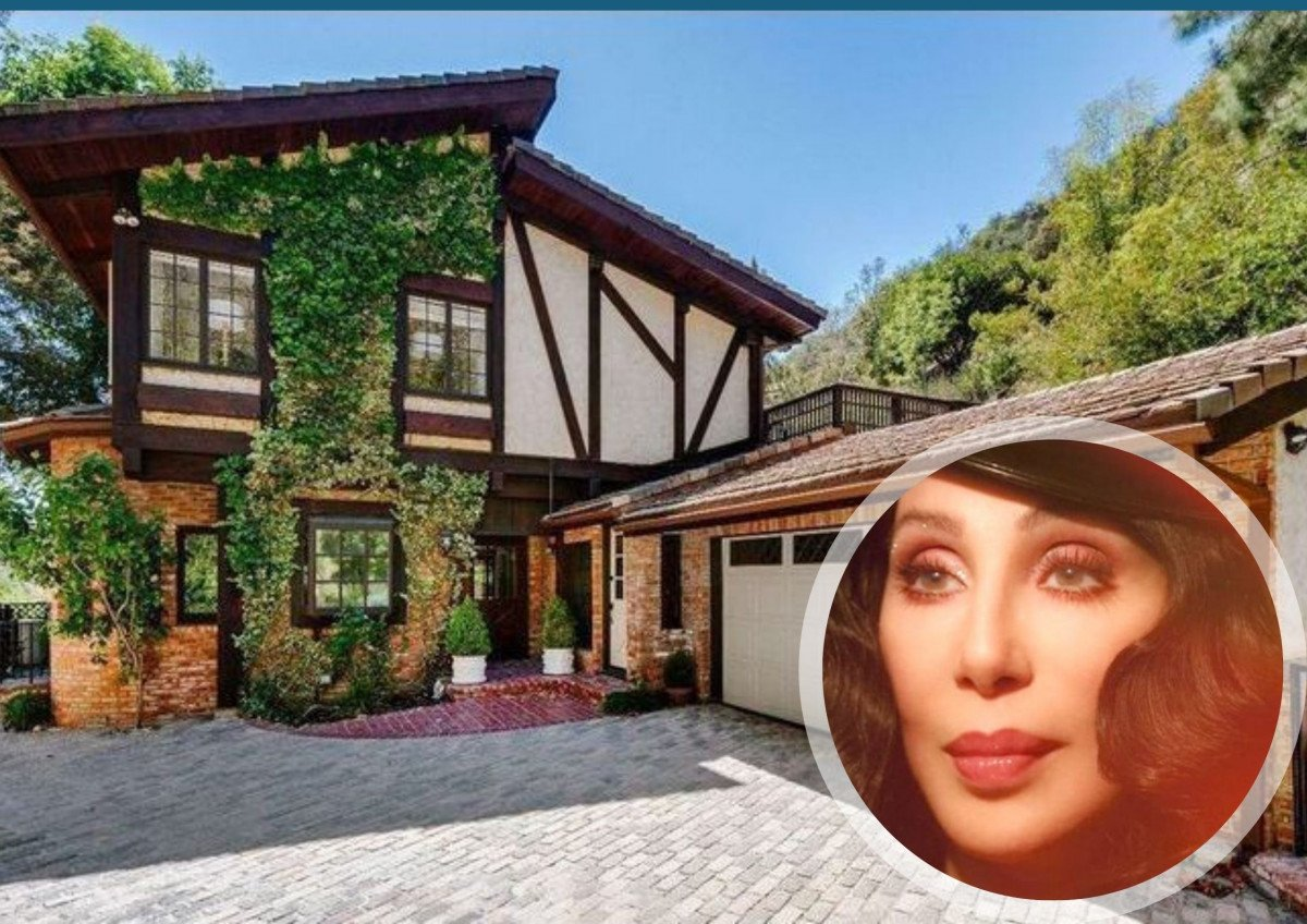 Cher's Incredible Mansions: Design Inspiration!