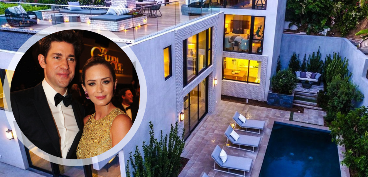 Emily Blunt's Private Hollywood Home