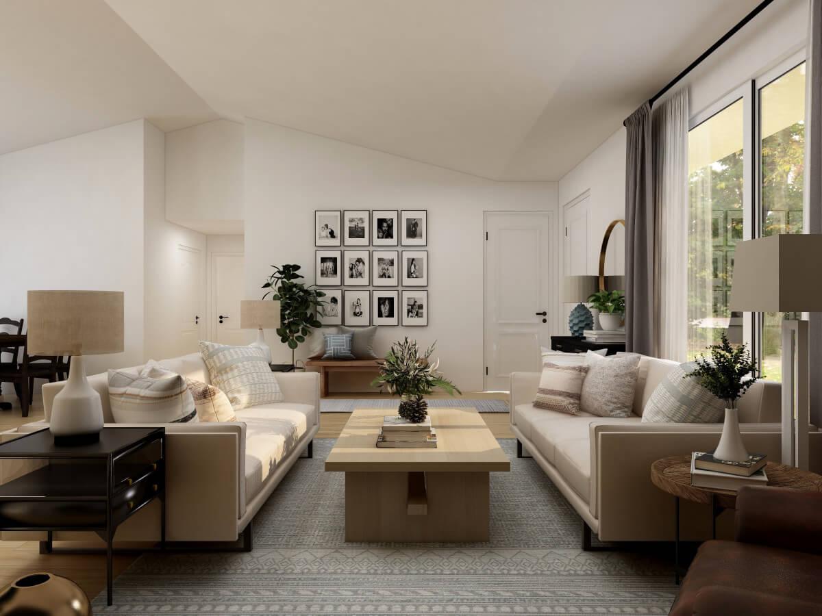 Farmhouse Style Living Room Ideas for 2021