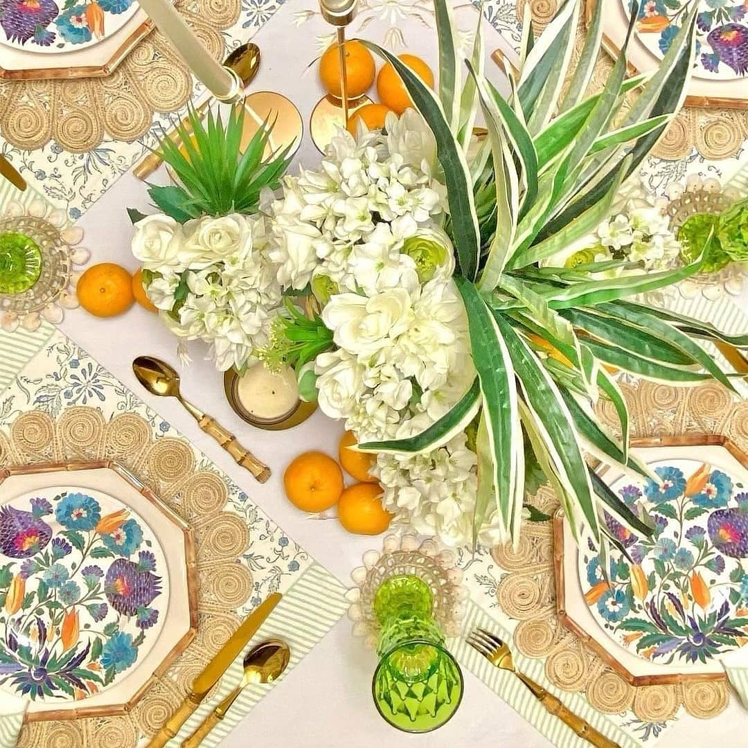 Enliven Your Space With Our Caracoles Iraca Woven Placemats
