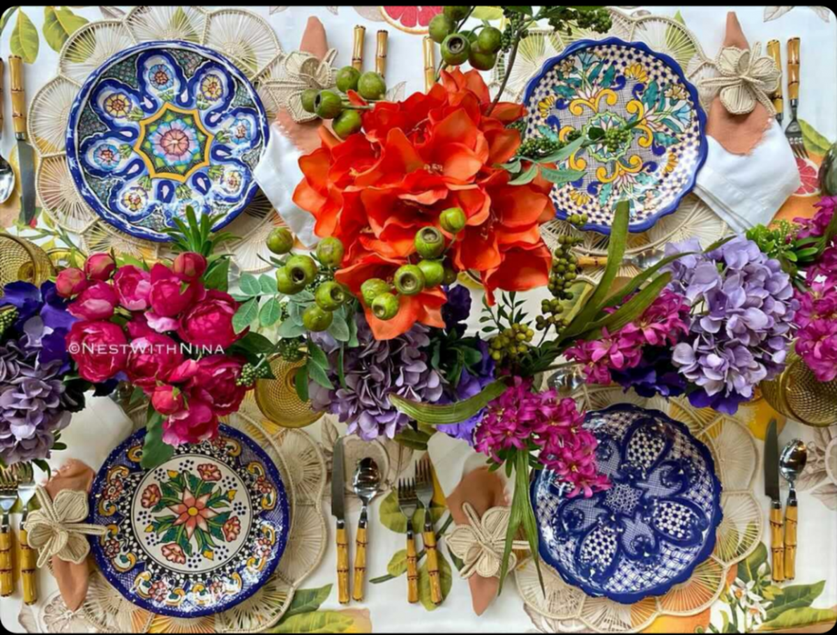 Creating a Boho Table with Woven Placemats