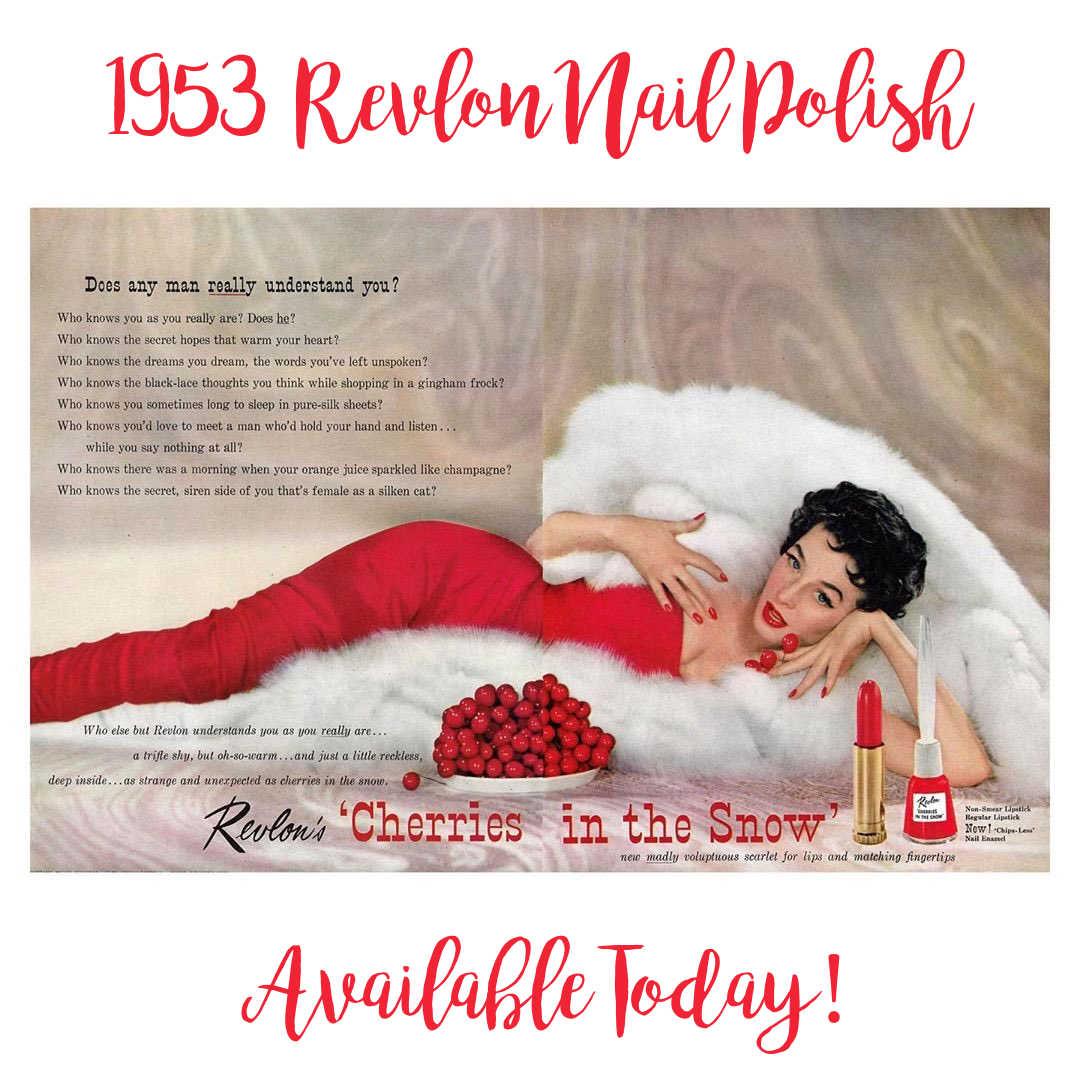 Revlon1953NailPolishCherriesinSnow