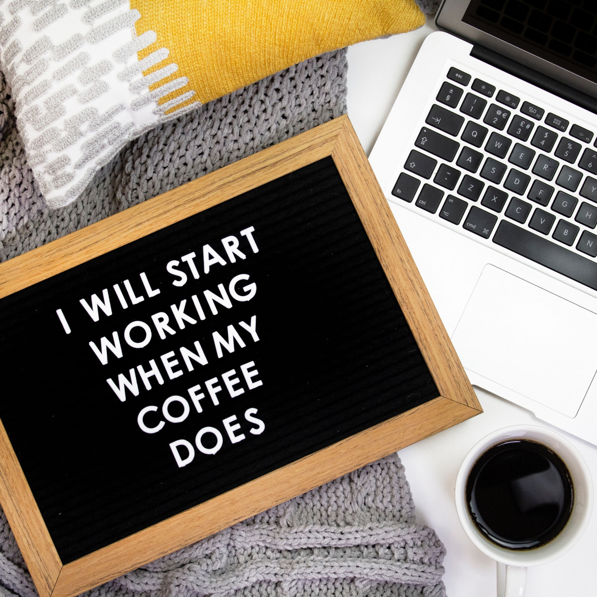 Will Work for Coffee Image by Emma Matthews