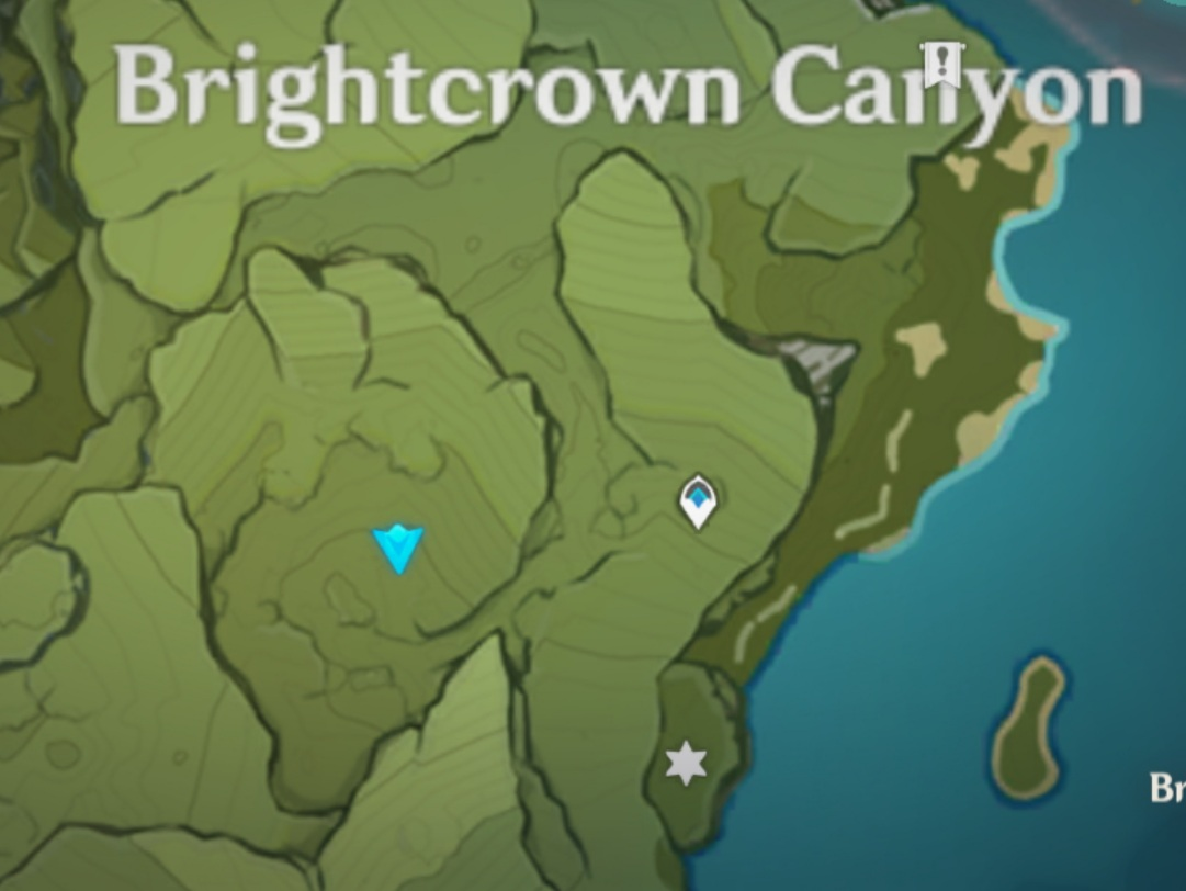 Brown Creature: Boar herd near well (screenshot from author)