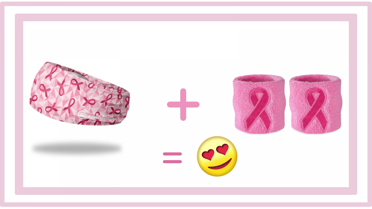 Sweatbands for Breast Cancer Awareness